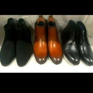 3 PAIRS OF STEVE MADDEN MEN SHOES.